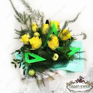 Цветы на 1 Сентября в Пскове заказать с доставкой на домПсков