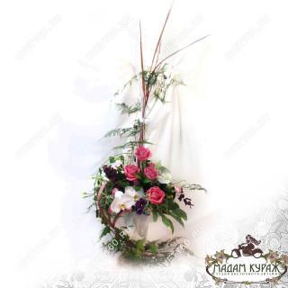Композиция в подарок на свадьбу с доставкой в Пскове