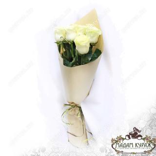 Букет белых роз в ПсковеПсков