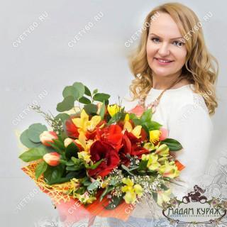 букеты цветов Псков