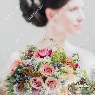 букет невесты псков