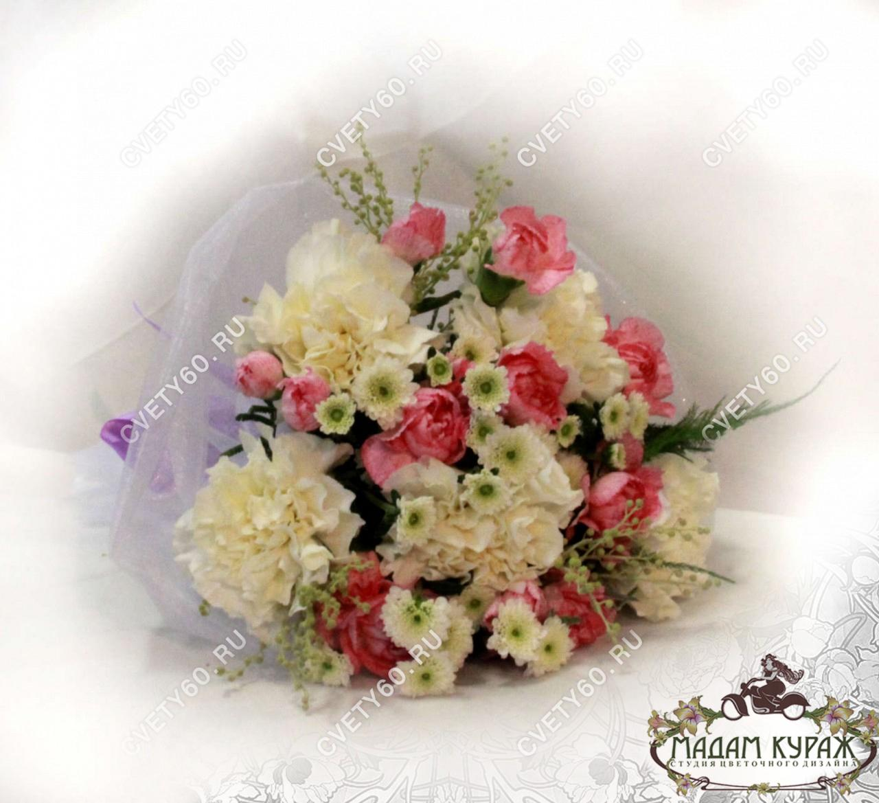 Недорогой букет невесты в Пскове