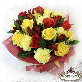 Букет из роз с доставкой в Пскове