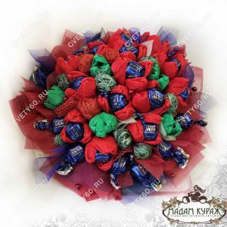 Букеты из конфет в Пскове с доставкой