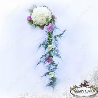 Необычный букет невесты в Пскове