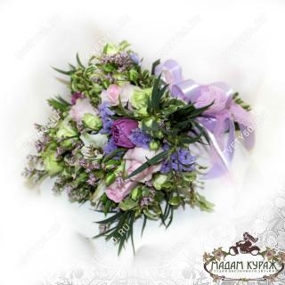 Сиреневый букет невесты в Пскове заказать в интернет магазине cvety60.ru