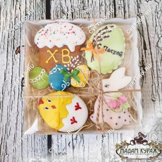 Подарок к Пасхе - набор пряников ручной работы можно заказать в интернет- магазинеПсков
