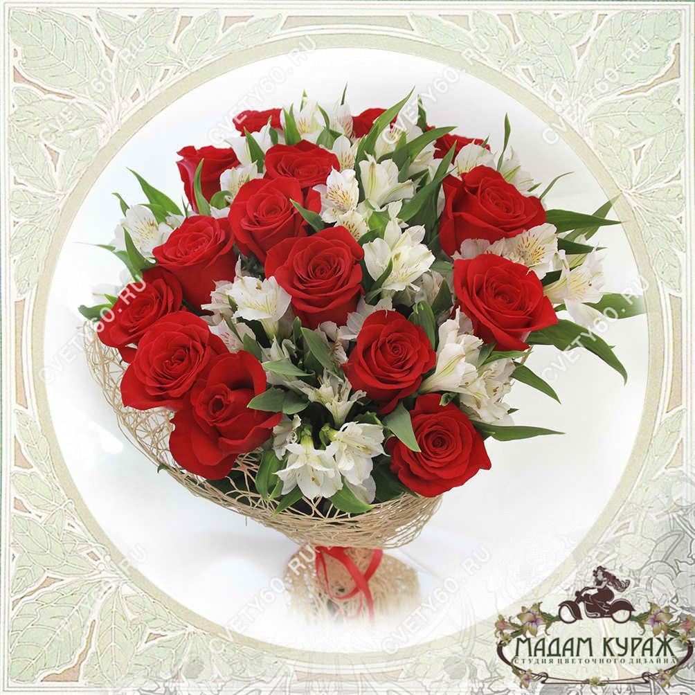 Цветы в Пскове с бесплатной доставкой