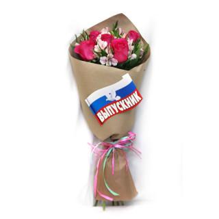 Букет из роз и альстромерийПсков