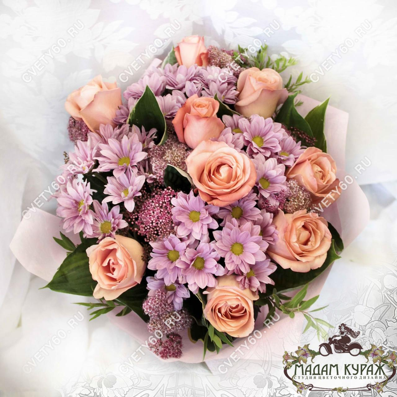 Букет из роз в Пскове