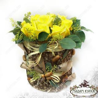 Цветочная композиция из розы в ПсковеПсков