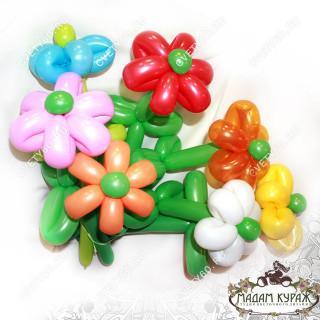 Букеты из цветочных шариков в Пскове