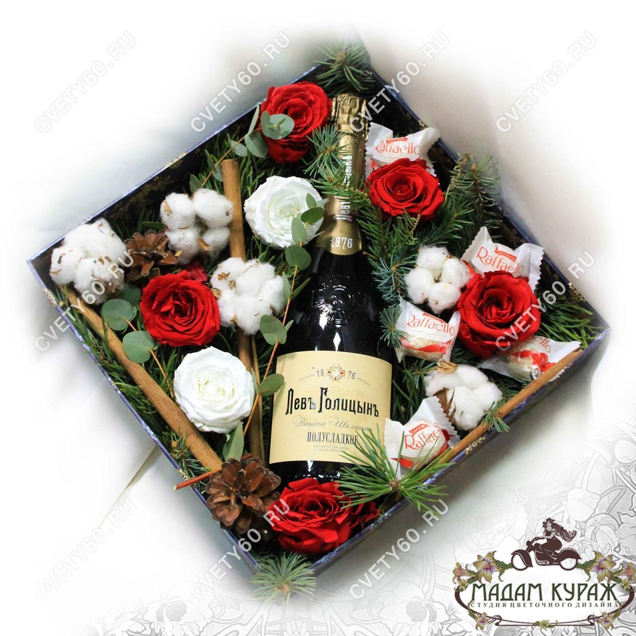 Новогодние подарки в Пскове