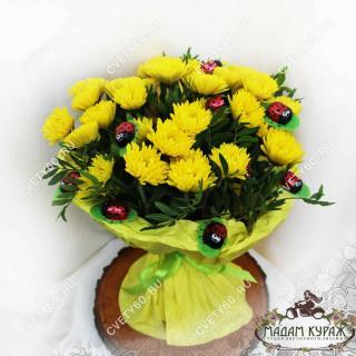 Букет в подарок ребенку заказать в интернет-магазине cvety60.ru