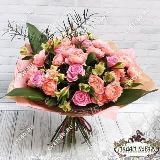 Купить красивый  букет цветов в ПсковеПсков