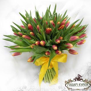 Букет из тюльпанов, Цветы в Пскове в Пскове