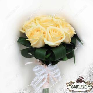Свадебный букет из роз в Пскове Псков