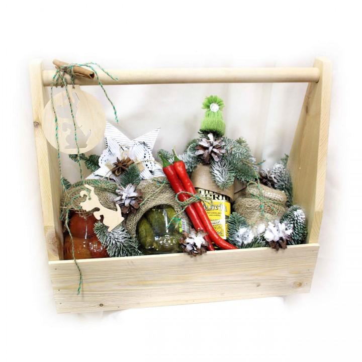 Новогодний подарок - продуктовый набор в Пскове
