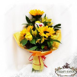 Цветы в Пскове в подарок на День ВлюбленныхПсков
