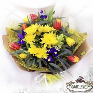 Букет из тюльпанов недорого с доставкой
