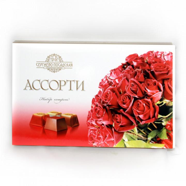 Коробка шоколадных конфет - прекрасное дополнение к цветочному подарку  в Пскове
