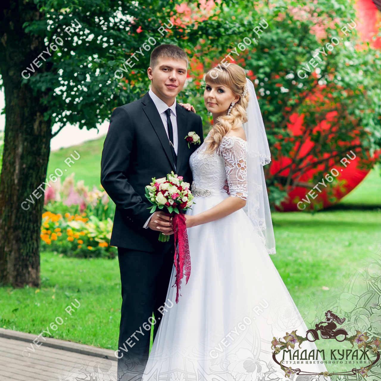 Свадебная флористика в Пскове