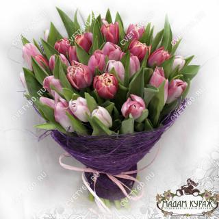 Букет из тюльпанов в Пскове в Пскове