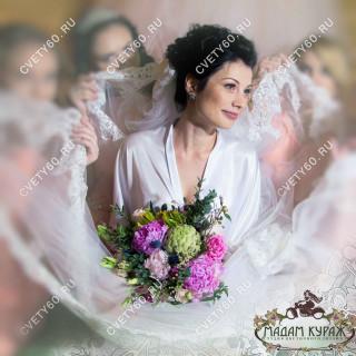 Где заказать букет невесты в Пскове