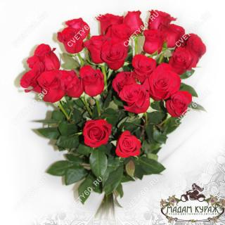 Букет из красных роз недорого в Пскове