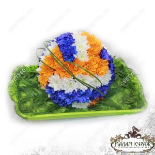 Волейбольный мяч из цветок в Пскове