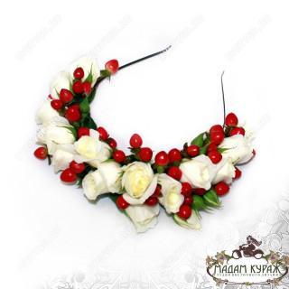 Свадебные украшения из цветов для невесты в Пскове