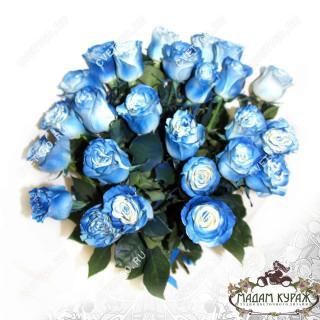Букет из голубой розы  с доставкойПсков