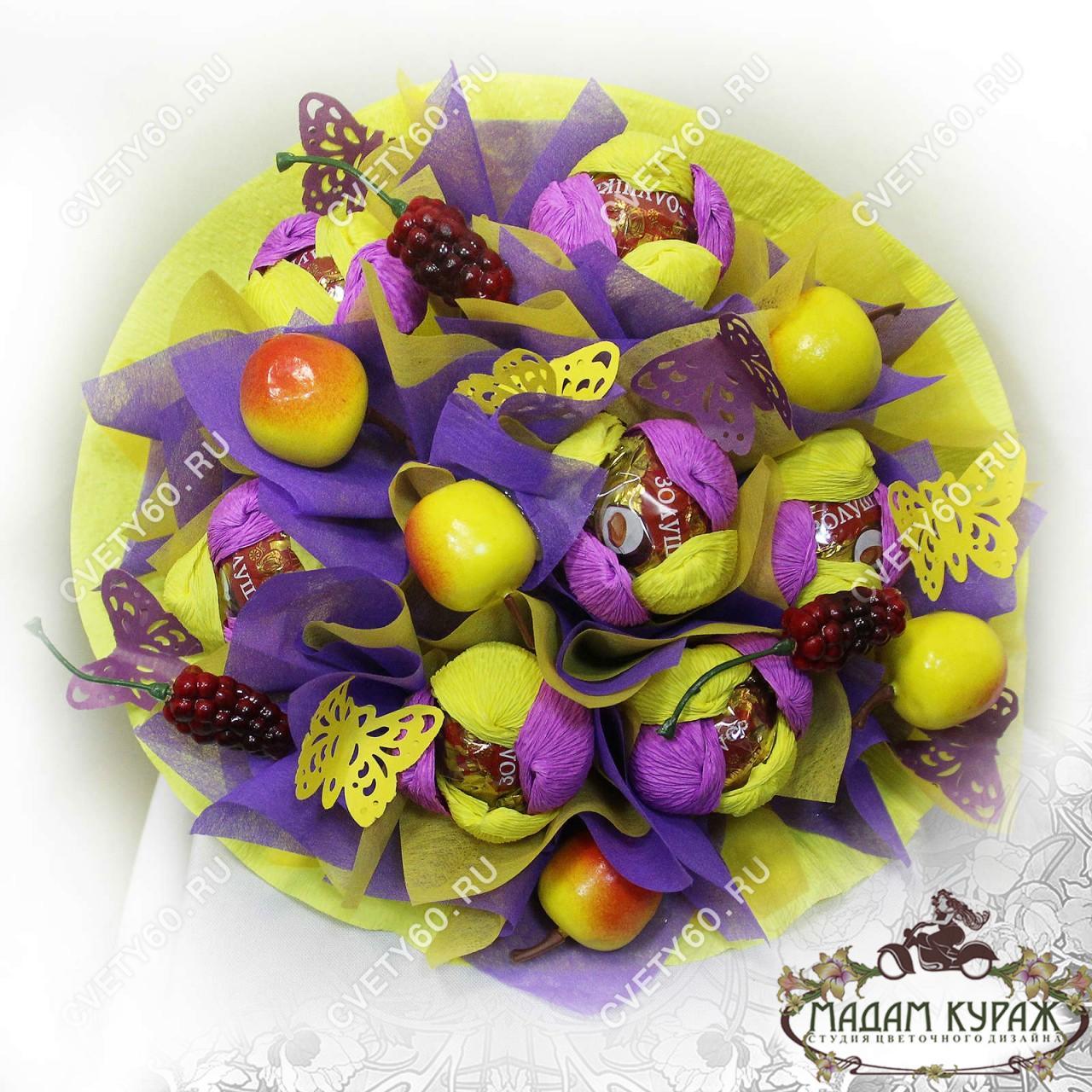 Букет из конфет в Пскове