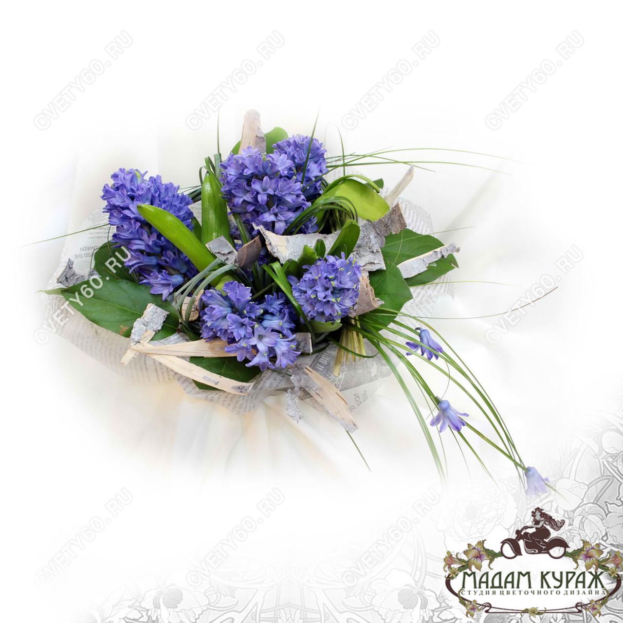 Весенние букеты к 8 марта в Пскове