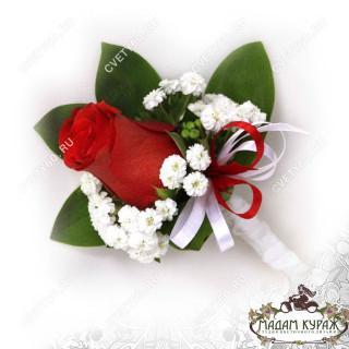 Бутоньерка и оформление свадьбы в Пскове заказать в интернет магазине cvety60.ru