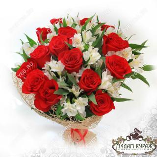 Букет из роз в Пскове в Пскове