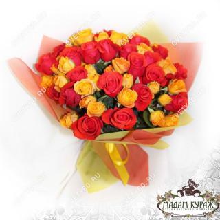 Букет из кустовых роз с доставкой в Пскове