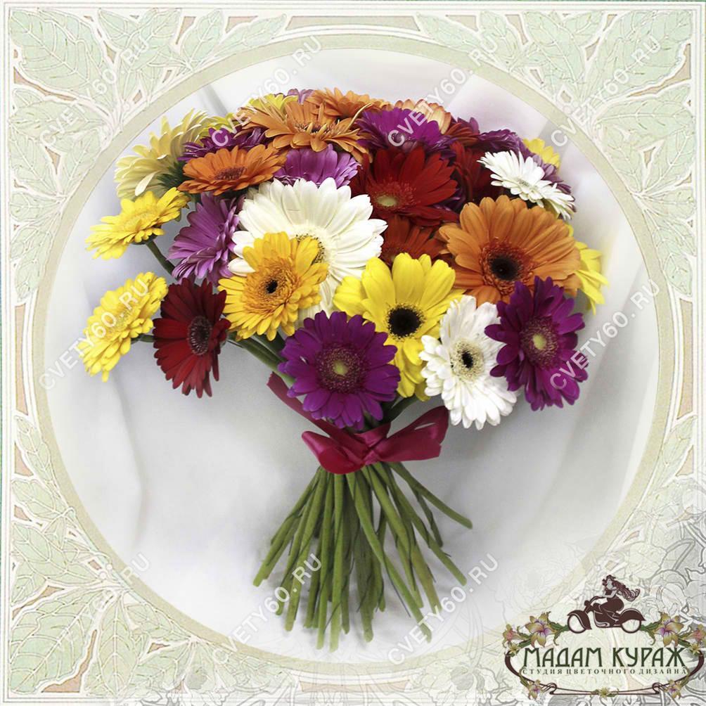 Цветы в Пскове, Цветы с доставкой в Пскове на 8 марта Открытка