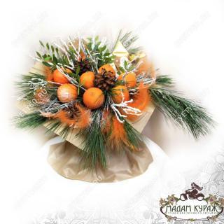Новогодний букет из фруктов в Пскове в Пскове