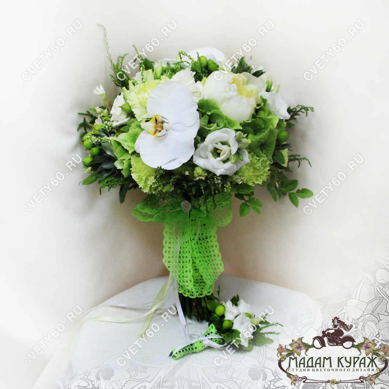 Свадебные букеты в Пскове