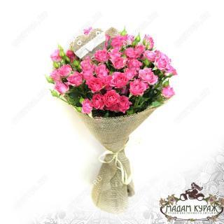 Букет из кустовой розы с доставкой