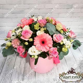 Романтичная цветочная коробкаПсков