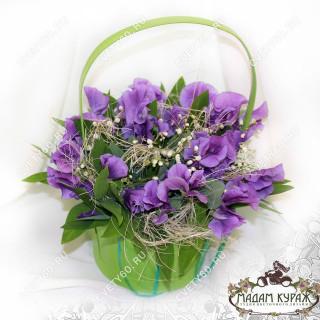 Цветочная корзинка в Пскове