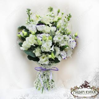 Букет из белых цветов в Пскове заказать в интернет магазине.Псков