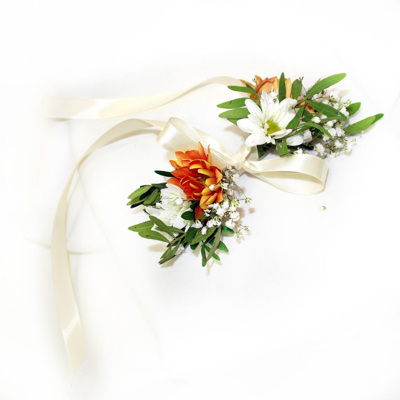 Свадебные украшения из живых цветов в Пскове