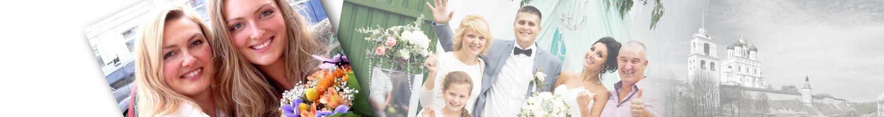 Украшение свадебного автомобиля  по Пскову